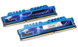 G.Skill RipjawsX Blue 16GB DDR3-1600 CL9 quad kit