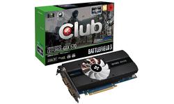 Club 3D GeForce GTX 570 BF3 Limited Edition