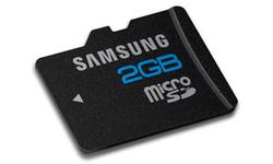 Samsung MicroSDHC Class 4 2GB