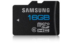 Samsung MicroSDHC Class 6 16GB + Adapter