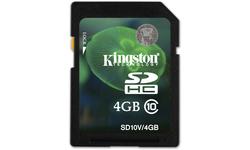 Kingston SDHC Class 10 4GB
