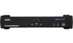 Aten 2-Port USB DVI Dual Link/CH7.1 Audio KVMP Switch
