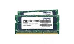 Patriot 16GB DDR3-1333 kit