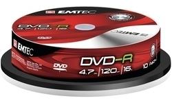 Emtec DVD-R 16x 10pk SP