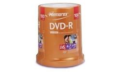 Memorex DVD-R 16x 100px Spindle