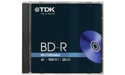 TDK BD-R 4x 4pk Jewel case
