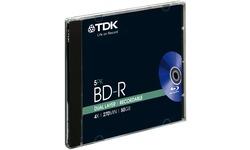 TDK BD-R DL 4x 5pk Jewel case