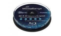MediaRange BD-R 6x 10px Spindle