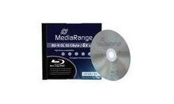 MediaRange BD-R DL 6x 10pk Jewel case