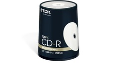 TDK CDR-80 52x 100pk Spindle