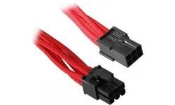 Bitfenix 6 Pin Pcie Power Extension 45 cm Red
