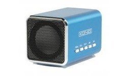 König Portable USB speaker 2x 3W Blue