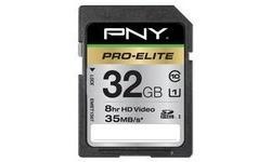PNY SDHC Pro Elite 32GB