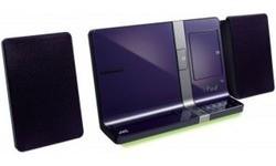 JVC CD Micro Component System Purple