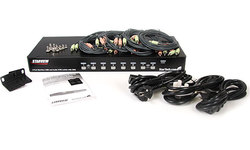StarTech.com 8 Port KVM Switch Rackmount USB/VGA with Audio