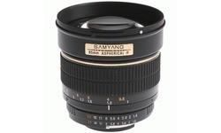 Samyang 85mm f/1.4 Aspherical IF MC (Nikon)