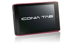 Acer Iconia Tab A100 Red