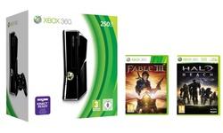 Microsoft Xbox 360 S 250GB + Halo Reach