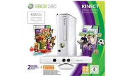 Microsoft Xbox 360 4GB Kinect Sports Pack White