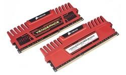 Corsair Vengeance Red 8GB DDR3-2133 CL9 kit