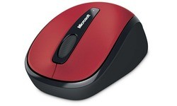 Microsoft Wireless Mobile Mouse 3500 Red