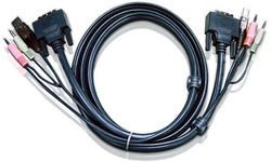 Aten 1.8M USB DVI-D Dual Link KVM Cable