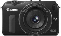 Canon Eos M Black 22mm kit