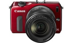 Canon Eos M Red 18-55mm kit