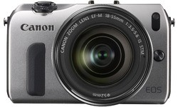 Canon Eos M Silver 18-55mm kit