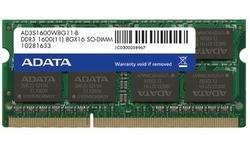 Adata 8GB DDR3-1600 CL11 Sodimm
