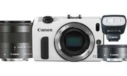 Canon Eos M 18-55 + 22mm kit White