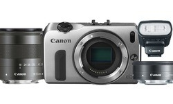 Canon Eos M 18-55 + 22mm kit Silver