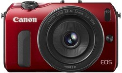Canon Eos M Red 22mm kit