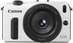 Canon Eos M White 22mm kit