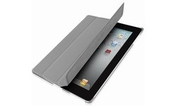 SBS Wrinkl Book Folio Case Grey (iPad 2)