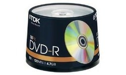 TDK DVD-R 16x 50pk Spindle