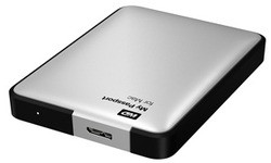 Western Digital My Passport for Mac 500GB Silver (USB 3.0)
