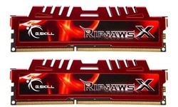 G.Skill RipjawsX Red 8GB DDR3-2400 CL11 kit