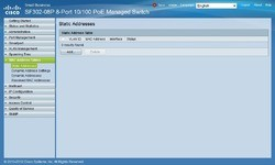 Cisco SF 302-08P 8-port 10/100 PoE Managed