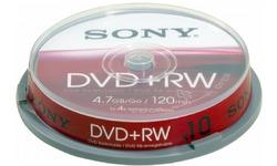 Sony DVD-RW 4x 25pk Spindle
