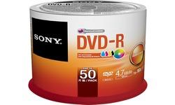 Sony DVD-R 16x 50pk Print Spindle
