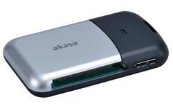 Akasa USB 3.0 6-port Cardreader Black