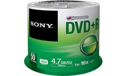 Sony DVD+R 16x 50pk Spindle