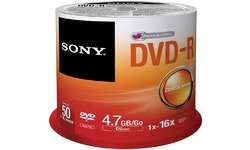 Sony DVD-R 16x 50pk Spindle