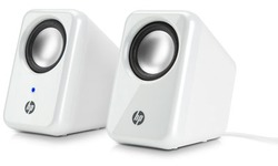 HP Multimedia Speakers White