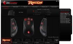 CM Storm Recon Gaming Mouse Black