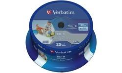 Verbatim BD-R SL LTH Printable 6x 25pk Spindle