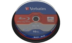 Verbatim BD-RE 2x 10pk Spindle