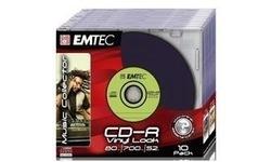Emtec CD-R 52x 10pk Slim case