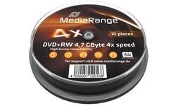 MediaRange DVD+RW 4x 10pk Spindle
